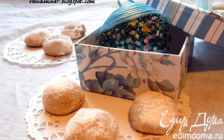 Рецепт Palle di Neve - итальянское рождественское печенье