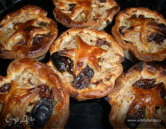 Рождественские пирожки-звездочки по рецепту Дж. Оливера