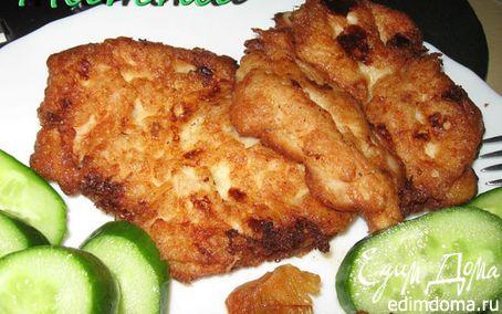 Рецепт Ленивый рыбный шницель