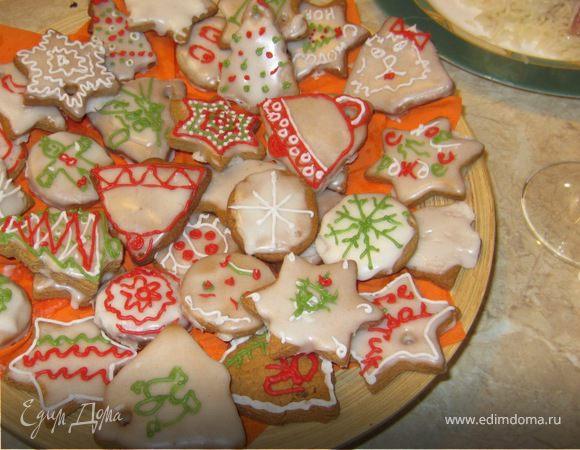 Имбирное печенье с художествами гостей