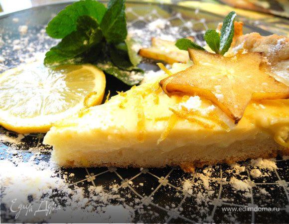 """""""Lemon-lime pie"""" или пирог с лимонно-лаймовой начинкой"""