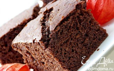 Рецепт Шоколадно-молочный бисквит