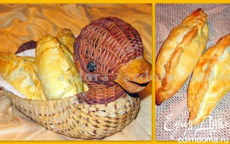 Рецепт Cornish Pasty - обед шахтёра (мясные пирожки)