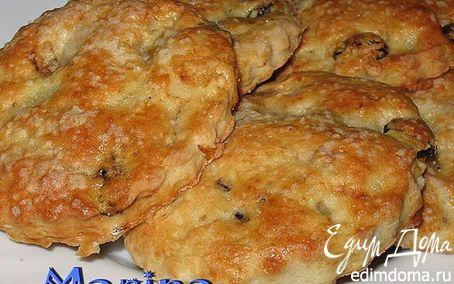 Рецепт Tворожное печенье с орехами и сухофруктами