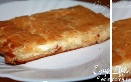 Рецепт Пирог с брынзой и моцареллой