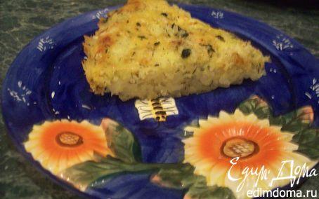 Рецепт Рисовый пирог с творогом