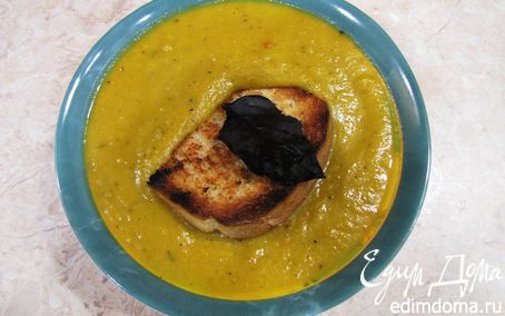 Рецепт Суп-пюре из тыквы - почти по-итальянски
