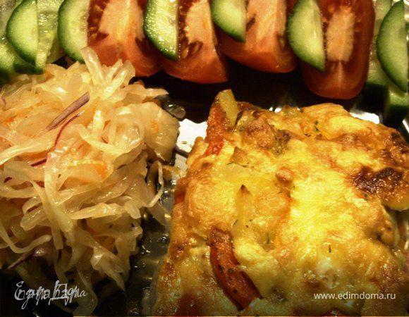 Запеканка картофель-овощи- фарш (Auf-lauf)