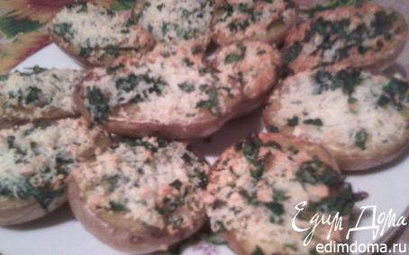Рецепт Картофель запеченный с зеленью