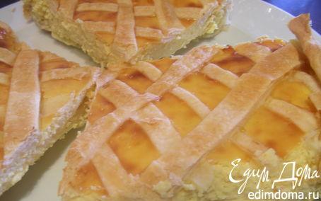 Рецепт Кростата (пирог) с рикоттой