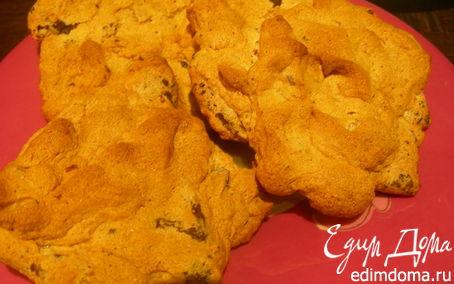 Рецепт Печенье-безе с шоколадом и орехами
