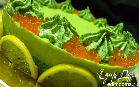 """Рецепт """"Скромный"""" рыбный торт ;-)"""
