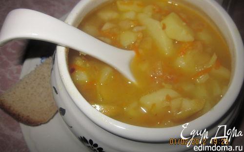 Рецепт Картофельный супчик с яблочком