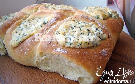 Рецепт Булочки с сыром и творогом
