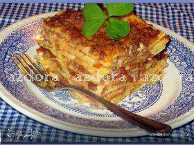 Лазанья-Lasagne alla bolognese (очень подробно)