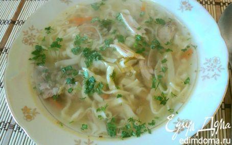 Рецепт Суп с домашней лапшой из фазана