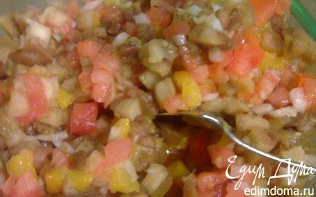 Рецепт Баклажанный салатик