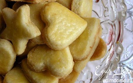 Рецепт Песочное печенье с ароматом лимона