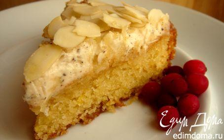 Рецепт Миндально-лимонный кекс