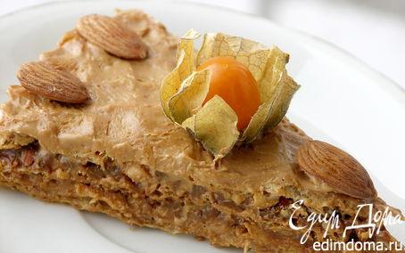 """Рецепт Вафельный торт """"Коровка"""""""