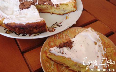 Рецепт – Нежный пирог с яблоками