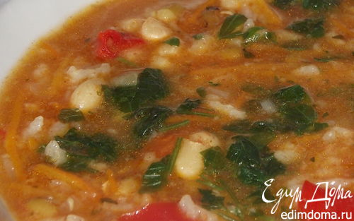 Рецепт Бобовая похлебка- сытная еда чабанов