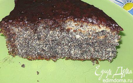 Рецепт Маково-ореховый кекс