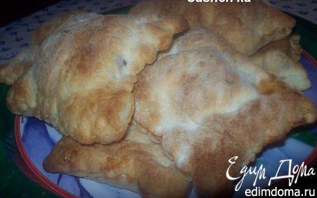 Рецепт Слойки с курицей в сливочно-грибном соусе