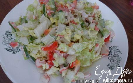 Рецепт Свежий салатик в зимний день