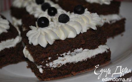 Рецепт Шоколадное тесто на белках