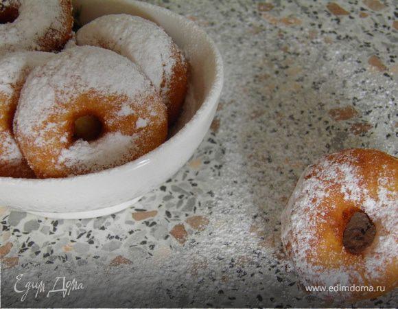 Творожные пончики-бублики=)