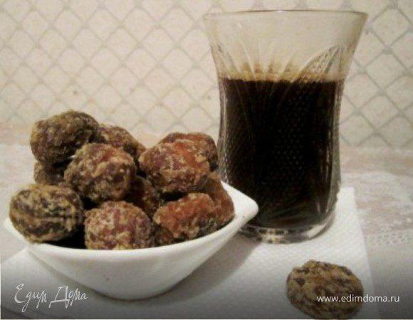 Печеньки в кофейной глазури