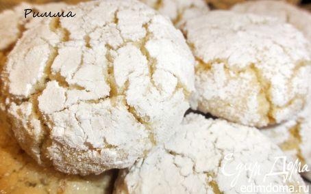 Рецепт Миндально-апельсиновое печенье (без муки)