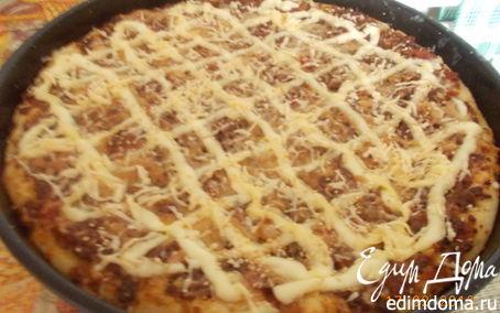 Рецепт Пицца по-домашнему