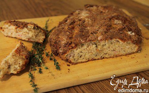 Рецепт Домашний хлеб с пармезаном и тимьяном
