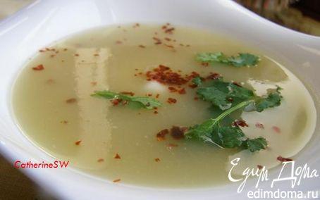 Рецепт Суп-пюре из корня и стеблей сельдерея