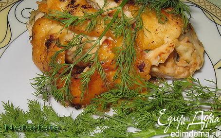Рецепт Куриное филе с белой фасолью.