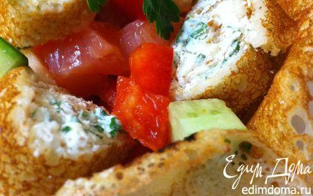 Рецепт Блинная радость (салатик)