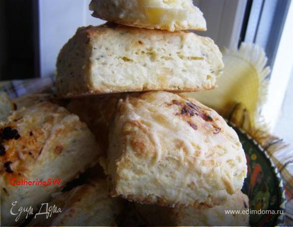Сконы с тимьяном и сыром