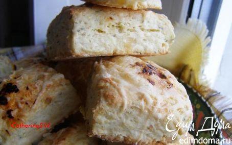 Рецепт Сконы с тимьяном и сыром