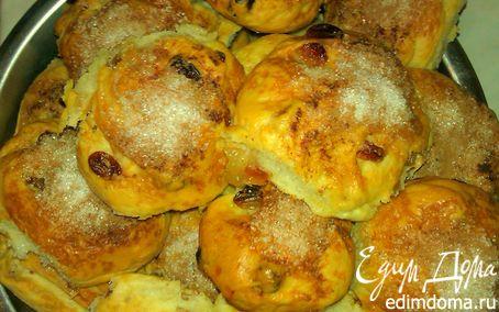 Рецепт Нежные булочки к завтраку