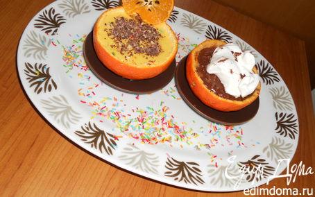 Рецепт Апельсиновый десерт