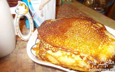 Рецепт Блинчики кукурузные,вкусные :)