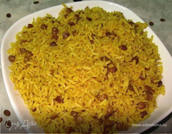 Маджадара (Рис с чечевицей)