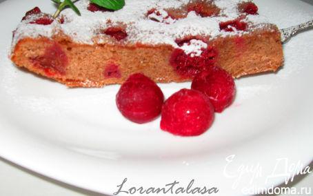 Рецепт Пирог с вишней и шоколадом