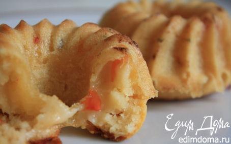Рецепт Пряные маффины с томатами, постные