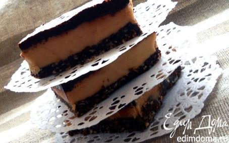 Рецепт Cappuccino Nanaimo bars - канадский шоколадный десерт