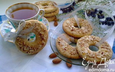 Рецепт Миндально - кокосовые колечки
