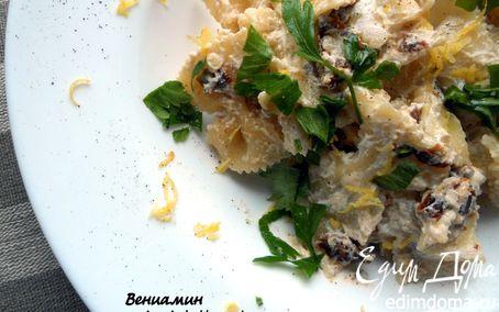 Рецепт Паста с вялеными помидорами и рикоттой