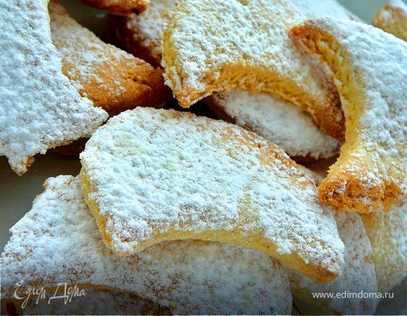 Венское миндально-ванильное печенье